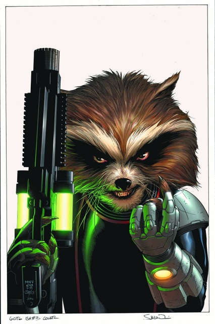 Guardians of the Galaxy #3 (2nd Printing)