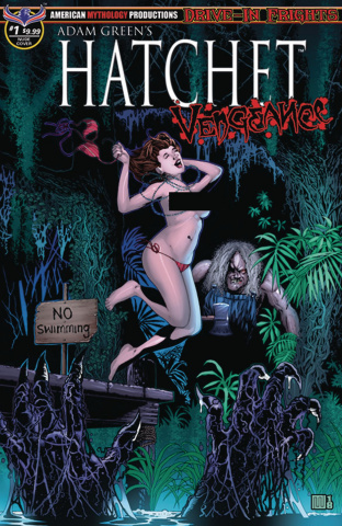 Hatchet: Vengeance #1 (Wolfer Bikini Cover)