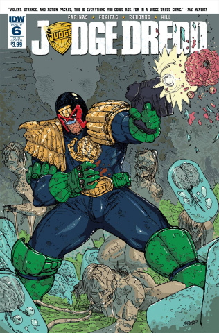 Judge Dredd #6 (Subscription Cover)