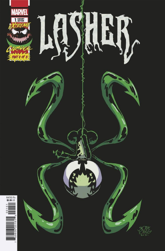Extreme Carnage: Lasher #1 (Young Cover)
