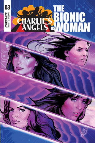 Charlie's Angels vs. The Bionic Woman #3 (Staggs Cover)