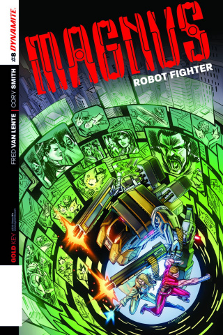 Magnus, Robot Fighter #8 (Smith Subscription Cover)