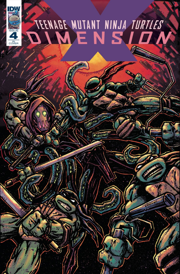 Teenage Mutant Ninja Turtles: Dimension X #4 (10 Copy Cover)