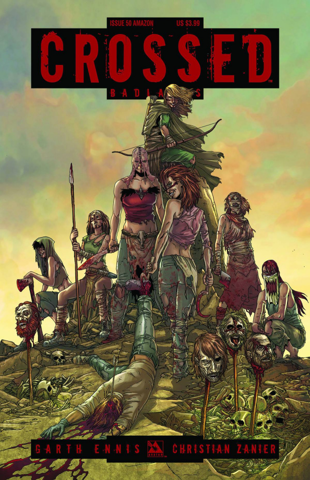 Crossed: Badlands #50 (Amazons Cover)