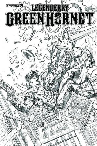 Legenderry: Green Hornet #2 (10 Copy Davila Cover)