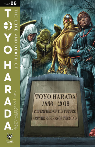 The Life and Death of Toyo Harada #6 (Braithwaite Cover)