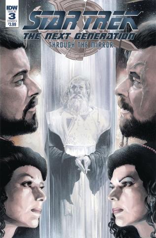 Star Trek: The Next Generation - Through the Mirror #3 (Woodward Cover)