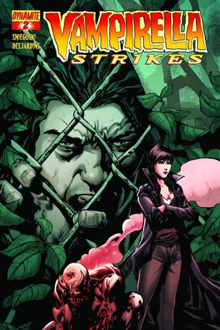 Vampirella Strikes #2 (Johnny D. Cover)