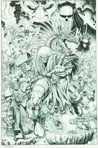 Ragnarök #7 (Subscription Cover)