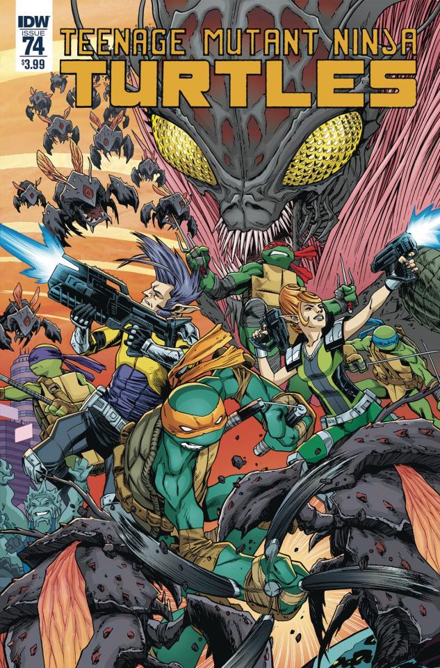 Teenage Mutant Ninja Turtles #74 (Smith Cover)