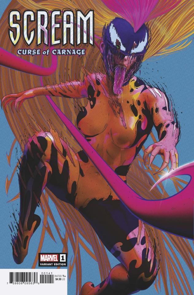 Scream: Curse of Carnage #1 (Sullo Cover)
