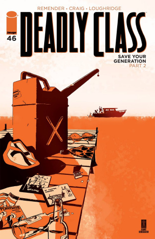 Deadly Class #46 (Craig & Wordie Cover)