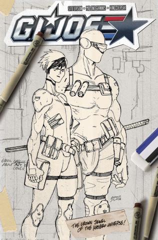 G.I. Joe #2 (Artist's Edition)