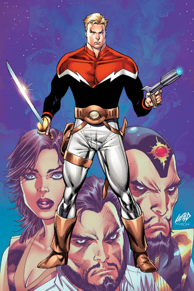 Flash Gordon #1 (Rare Liefeld Virgin Cover)