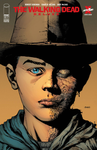 The Walking Dead Deluxe #4 (Finch & McCaig 2nd Printing)