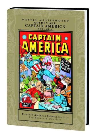 Golden Age Captain America Vol. 6 (Marvel Masterworks)