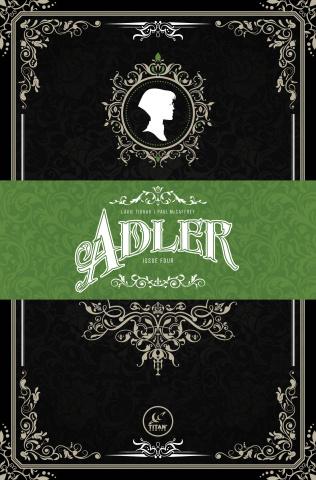Adler #4 (Victorian Homage Cover)