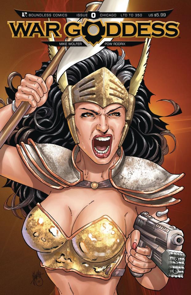 War Goddess #0 (Chicago Cover)