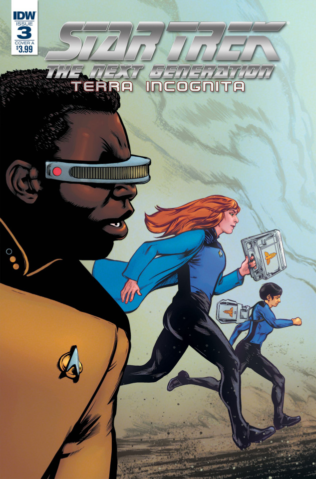 Star Trek: The Next Generation - Terra Incognita #3 (Shasteen Cover)
