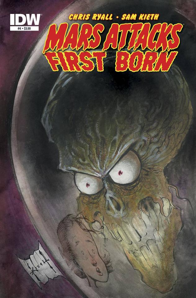 Mars Attacks First Born #4