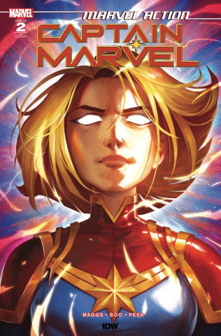 Marvel Action: Captain Marvel #2 (10 Copy Pitre-Durocher Cover)