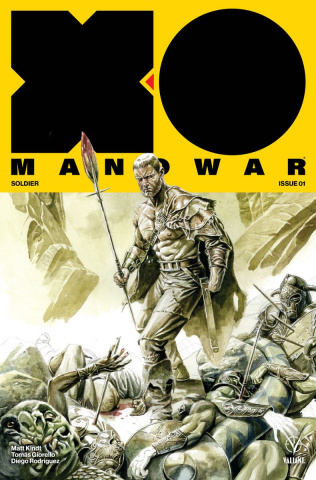 X-O Manowar #1 (50 Copy XO Icon Jones Cover)