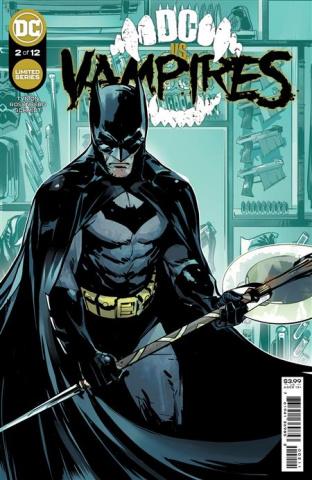 DC vs. Vampires #2 (Otto Schmidt Cover)