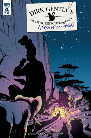Dirk Gently's Holistic Detective Agency: A Spoon Too Short #4