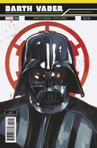 Star Wars: Darth Vader #18 (Reis Galactic Icon Cover)
