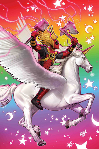 Deadpool #11 (Nakayama Asgardian Cover)