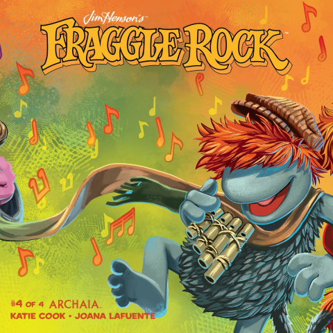 Fraggle Rock #4 (Subscription Myler Cover)