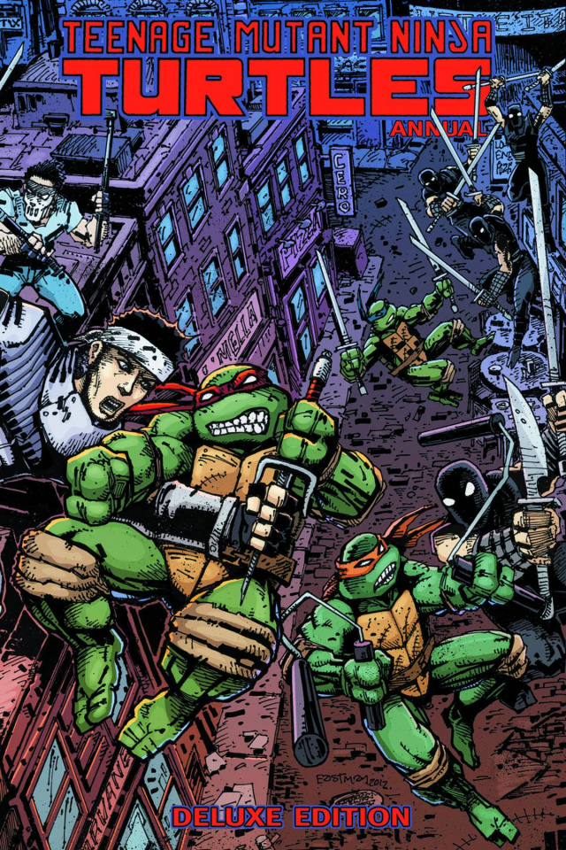 Teenage Mutant Ninja Turtles Annual (Deluxe Edition)
