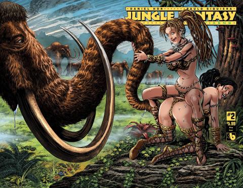 Jungle Fantasy: Vixens #2 (Wrap Cover)