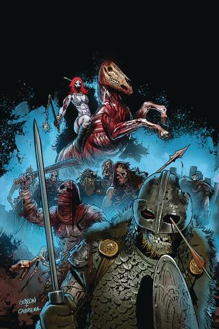 Red Sonja #14 (15 Copy Gedeon Zombie Virgin Cover)