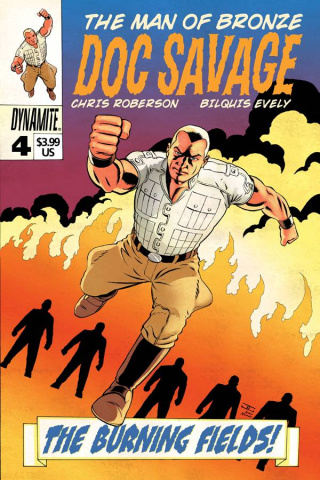 Doc Savage #4 (Cassaday Cover)
