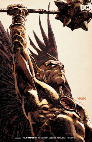 Hawkman #19 (Variant Cover)