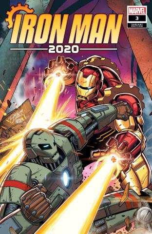 Iron Man 2020 #3 (Ron Lim Cover)
