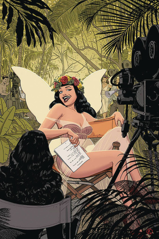 Bettie Page #1 (Kano Virgin Cover)