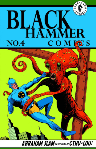 Black Hammer #4 (Lemire Cover)