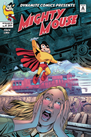 Mighty Mouse #4 (Lima Cover)