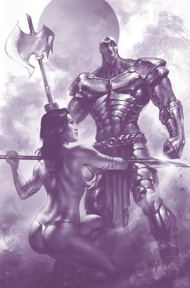 Dejah Thoris #3 (25 Copy Parrillo Tint Virgin Cover)