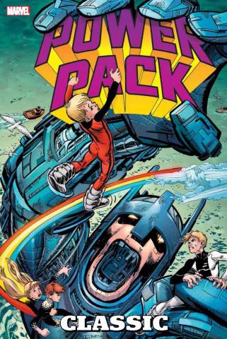 Power Pack Classic Vol. 1 (Omnibus Bogdanove Cover)