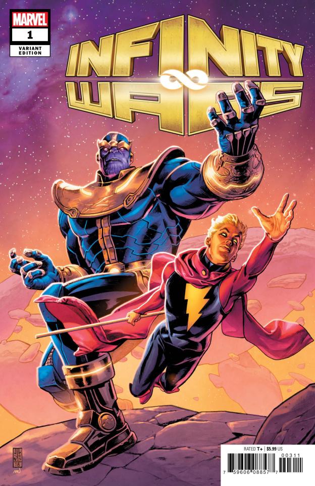 Infinity Wars #1 (Jones Promo Cover)