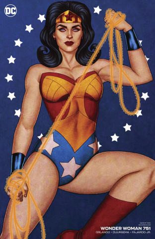 Wonder Woman #85 (Jenny Frison Cover)