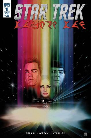 Star Trek: Manifest Destiny #1 (Subscription Cover Klingon Edition)