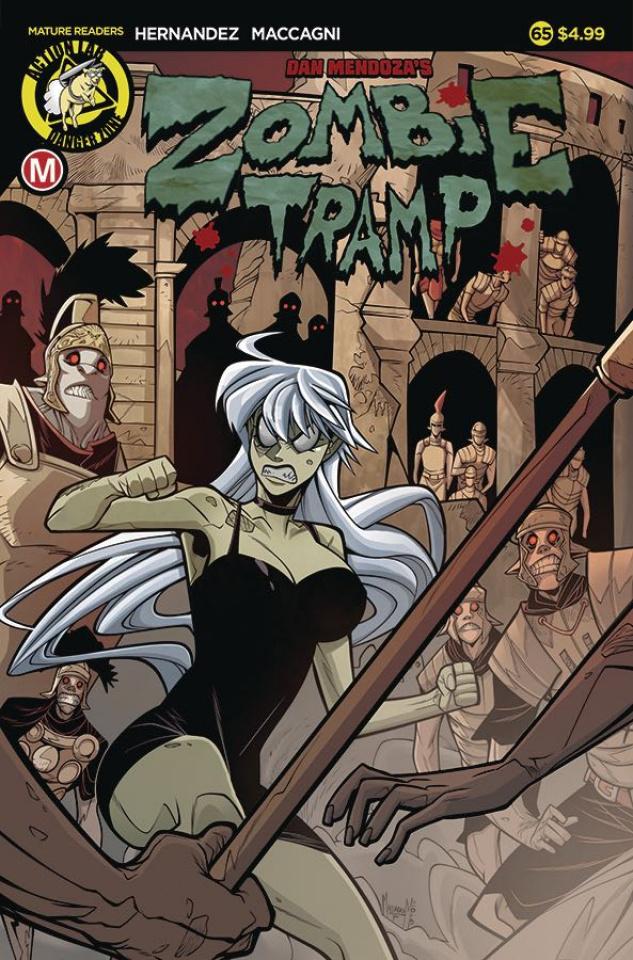 Zombie Tramp #65 (Maccagni Cover)