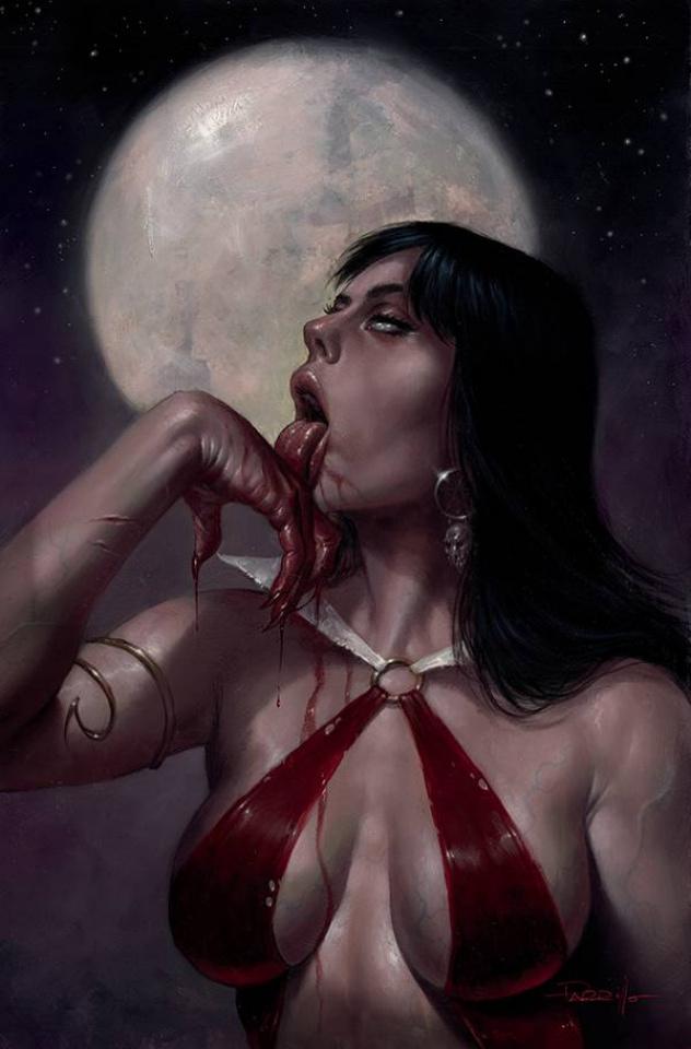 Vampirella #21 (Parrillo Virgin Cover)