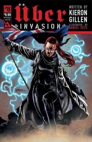 Über: Invasion #8 (VIP Premium Cover)