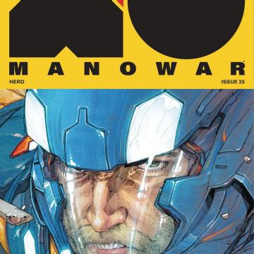 X-O Manowar #25 (Rocafort Cover)