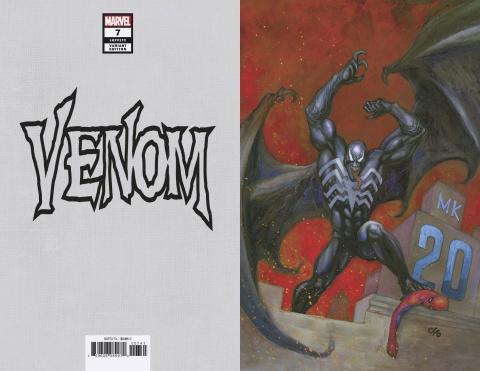 Venom #7 (Frank Cho MKXX Virgin Cover)
